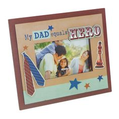 My Dad is My Hero Rs. 499.00   A glass photoframe for a picture of your father.