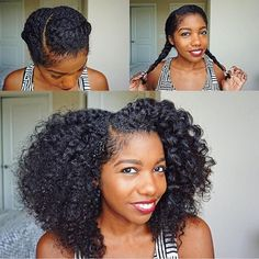 Flat twist out #goals  @curldaze #naturalhair #naturalhairdaily #naturalhaircommunity #curlygirl #curlyhair #instadaily