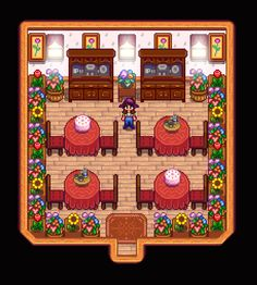 Little Lady's - English Tea Room/Shed (Stardew Valley)