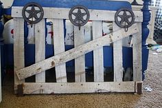 What a great idea for a coat rack...perfect for our cowboy room!