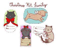 Tags de Natal | Depois do desenho em homenagem a molly, fiz … | Flickr