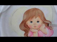 como estampar rosinhas -Pinturas baby Márcia - YouTube