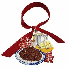 #Louisiana #neworleans #redbeans #redbeansandrice #ornament #Cajun Red Beans and Rice Ornament