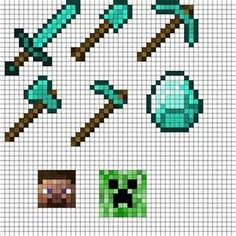minecraft pixel free patterns - Yahoo Image Search Results