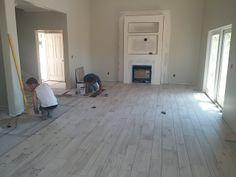 Flooring going in!