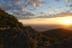 Shenandoah National Park is Virginia's only national park and encompasses about 300 square miles of Virginia's Blue Ridge Mountains.