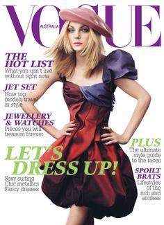 Jessica Stam by Craig McDean Vogue Australia November 2007