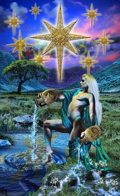 The Star ~ Tarot Illuminati ~ *Elric2012 on deviantART