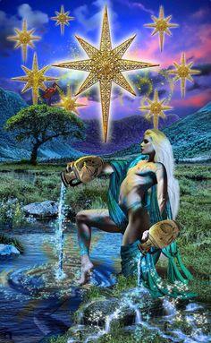 The Star ~ Tarot Illuminati ~ *Elric2012 on deviantART