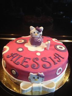 # Cake #Hello Kitty