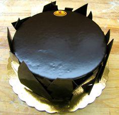 #Chocolate Leaf #Torte - Bennison's Bakery