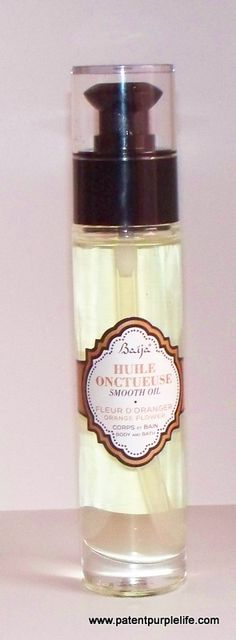 Baija's Neroli Bath and Body Oil - only available in France but the most AMAZING smell.
