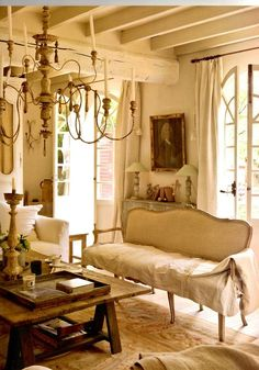 Classic French Interiorantique French Trumeau Rock Crystal Amusing French Design Living Room Design Ideas