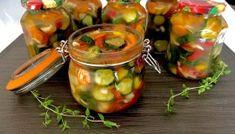 Ogórki w zalewie gyros Nigel Slater, Pickles, Cucumber, Salads, Food And Drink, Blog, Stuffed Peppers, Vegetables, Recipes