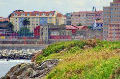 A Coruña La Corogne Galice Espagne 394 - Paseo Marítimo