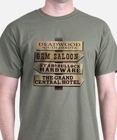 Deadwood Sign Post T-Shirt for