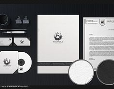 """Check out new work on my @Behance portfolio: """"White and Classy Corporate Identity"""" http://on.be.net/1KO3A71"""
