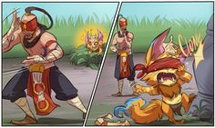 league of legends fan art gnar - Google Search