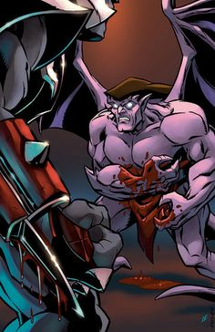 """Bash"" is the fifth issue of the Gargoyles comic by SLG, and Chapter Five of the Clan-Building story arc. It was released on July 18, 2007. The issue was reprinted in Gargoyles: Clan-Building, Volume One."
