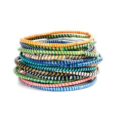 My Design Inspiration Rubber Bracelets Multi On Fab Recycled For Men