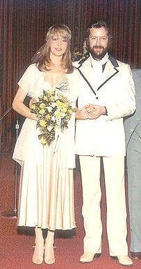 ♡♥Eric Clapton with wife Pattie Boyd♥♡
