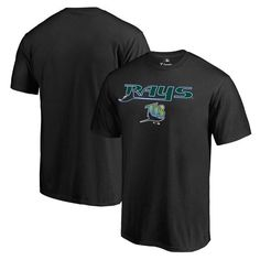 Tampa Bay Rays Fanatics Branded Big & Tall Cooperstown Collection Wahconah T-Shirt - Black - $29.99
