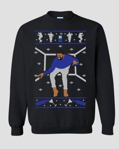 Drake-Hotline-Bling-Ugly-Christmas-Sweater-Drake-sweatshirt-ovo-xo-sweatershirt Available Here.   Click the Image to check it out now!   #DrakeUglyXmasSweater