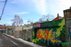Graffiti Alley in Trinity Bellwoods, Toronto Cityscapes, Toronto, The Neighbourhood, Graffiti, Real Estate, Explore, The Neighborhood, Real Estates, Graffiti Artwork