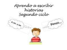 Aprendo a escribir historias 2º ciclo by Pilar Moro via slideshare Bilingual Classroom, Writers Notebook, Writing Workshop, Conte, Learning Spanish, Have Time, Homeschool, Language, Teaching