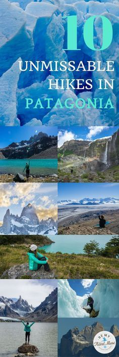 10 of the best hikes in Patagonia, ranging from well known Fitz Roy and the Torres del Paine Circuit to lesser known ones such as Refugio Frey. Trekking in Argentina and Chile. || Be My Travel Muse #southamericatravel