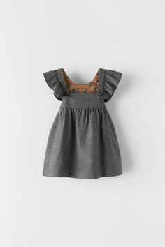 Girls Dresses Online, Dresses Kids Girl, Girl Outfits, Vestidos Zara, What To Wear Fall, Corduroy Pinafore Dress, Minnie Dress, Tulip Dress, Organza Dress