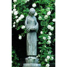 Campania International, Inc Wood Nymph Statue Color: Aged Limestone
