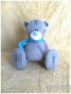 Мишка Тедди — вязание спицами, описание схем - Игрушки - Рукоделие и творчество - Рукоделие