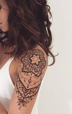 Resultado de imagem para shoulder tattoos for girls
