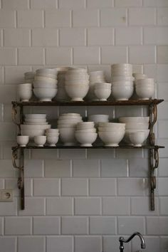 ironstone...love all the bowls