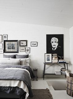 Love this rustic vacation studio in Australia that feels so Nordic and charming.