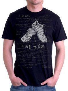 Runners Bucket List Running T Shirt #Running T Shirts http://www.cycologygear.com/shop/live-to-run/