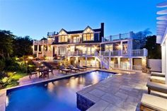 This Provincetown, MA home is beautiful by day, but it positively twinkles at night!