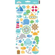 Anchors aweigh icons sticker