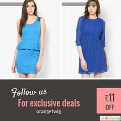 Today Only! ₹11 OFF this item.  Follow us on Pinterest to be the first to see our exciting Daily Deals. Today's Product: Blue Casual Peplum Dress Buy now: http://orangetwig.myshopify.com/products/blue-casual-peplum-dress?utm_source=Pinterest&utm_medium=Orangetwig_Marketing&utm_campaign=DD1   #beautiful #instagood #instafollow #photooftheday #picoftheday #love #smallbiz #instalike #shopsmall #shopping #etsy #ootd #OrangeTwig #sale #dailydeal #dealoftheday #todayonly #instadaily #forsale…