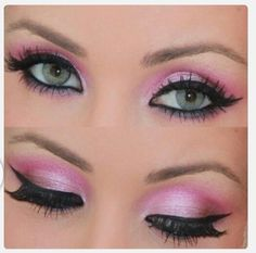 Get this pretty in pink look using Younique Moodstruck Mineral Pigments in Corrupted, Vulnerable and Curious!