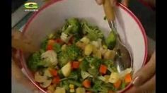 Siddika Kabir's Bangla Recipe- Broccoli Mushroom Salad