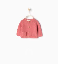 Knit cardigan with buttons-New this week-Mini   0-12 months-COLLECTION SS16   ZARA Ireland
