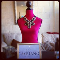 Maximina necklace with amethyst by Cayetano Legacy Collection
