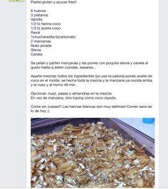 Pastel gluten , sugar free y bajo en carbos