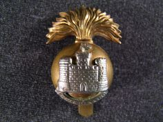 WWII Royal Inniskilling Fusiliers cap badge, £30
