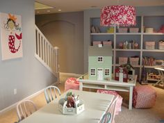 Super Fun Girls Play Room - Basement Designs - Decorating Ideas - HGTV Rate My Space