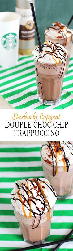 Copy Cat Recipe Starbucks Double Chocolaty Chip Frappuccino
