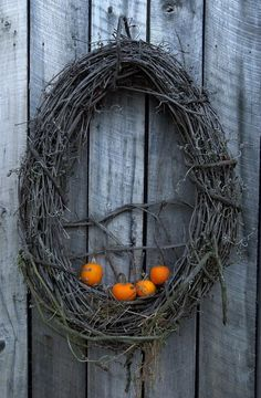 Twig Wreath... not my style, but I know someone that will like it.
