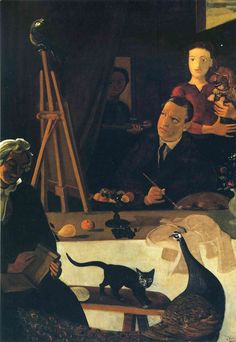 The Painter and his Family, 1939  Andre Derain